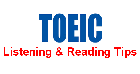 toeic listening reading tips